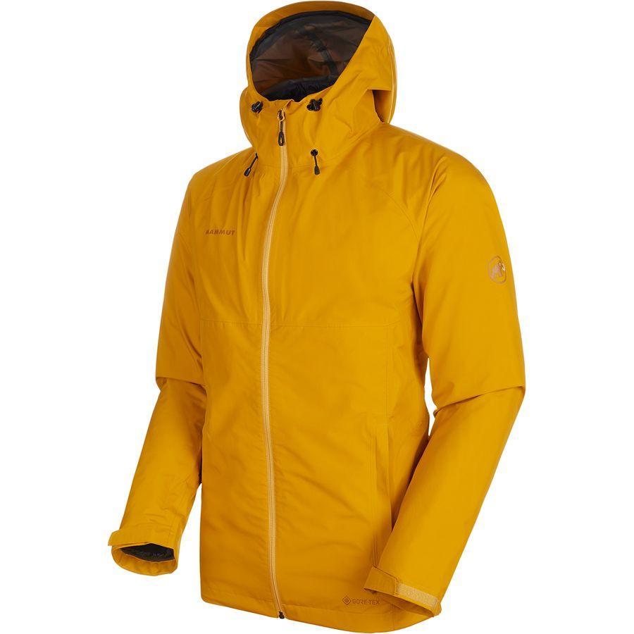(取寄)マムート メンズ コンベイ 3-In-1HS フーデッド ジャケット Mammut Men's Convey 3-In-1 HS Hooded Jacket Golden/Black