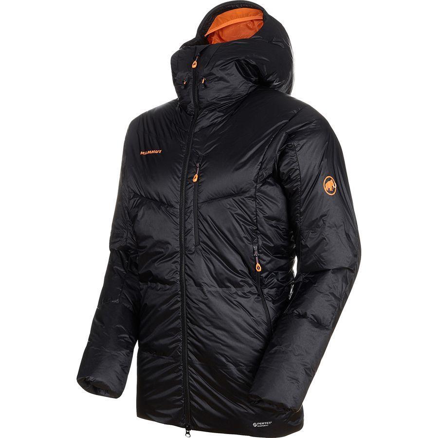 【ハイキング 登山 マウンテン アウトドア】【ウェア アウター】【大きいサイズ ビッグサイズ】 (取寄)マムート メンズ アイガーヨッホ プロ イン フーデッド ジャケット Mammut Men's Eigerjoch Pro IN Hooded Jacket Black