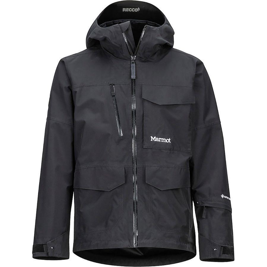 リアル (取寄)マーモット メンズ Jacket カーソン ジャケット (取寄)マーモット Marmot Black Men's Carson Jacket Black, ビバスポーツ:a3be9fa4 --- cleventis.eu