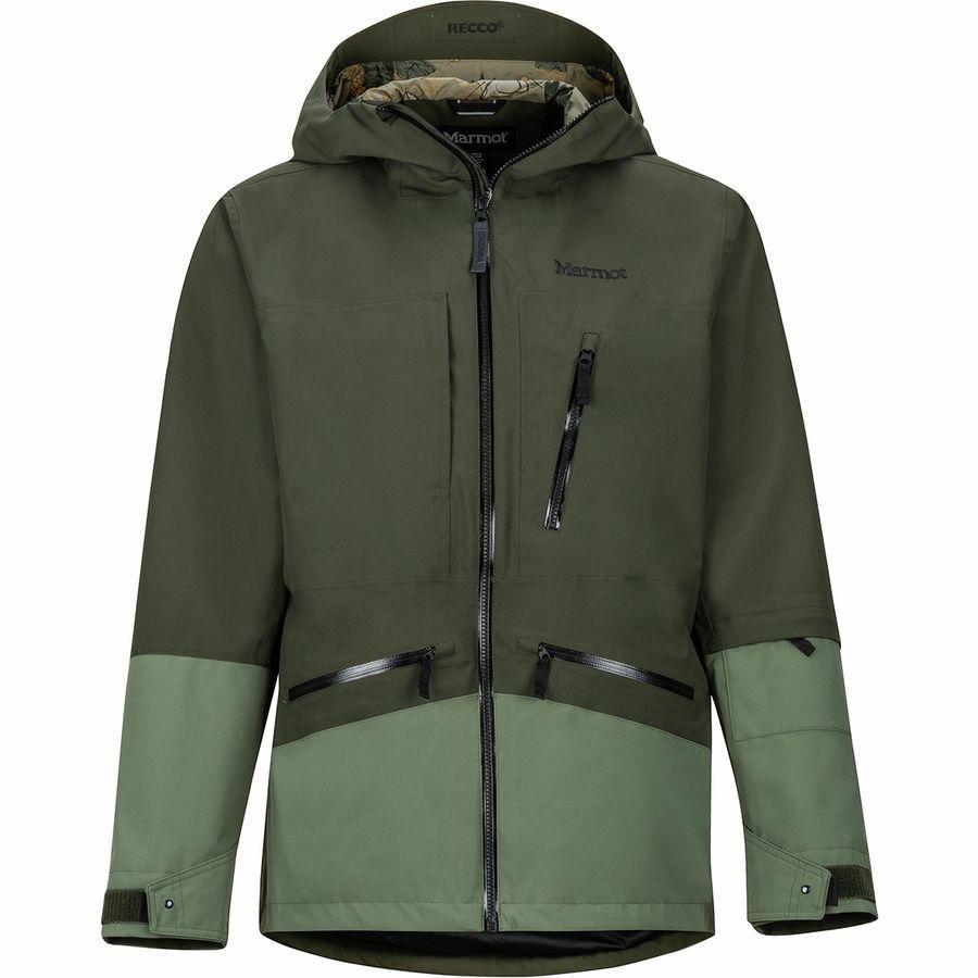 (取寄)マーモット メンズ モーメント ジャケット Marmot Men's Moment Jacket Rosin Green/Crocodile