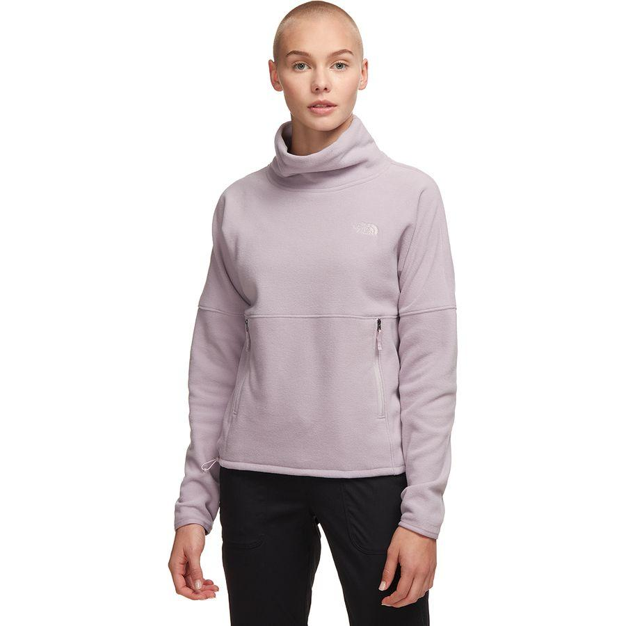 (取寄)ノースフェイス レディース TKA グレイシャー Funnel-Neck フリース プルオーバー The North Face Women TKA Glacier Funnel-Neck Fleece Pullover Ashen Purple/Ashen Purple
