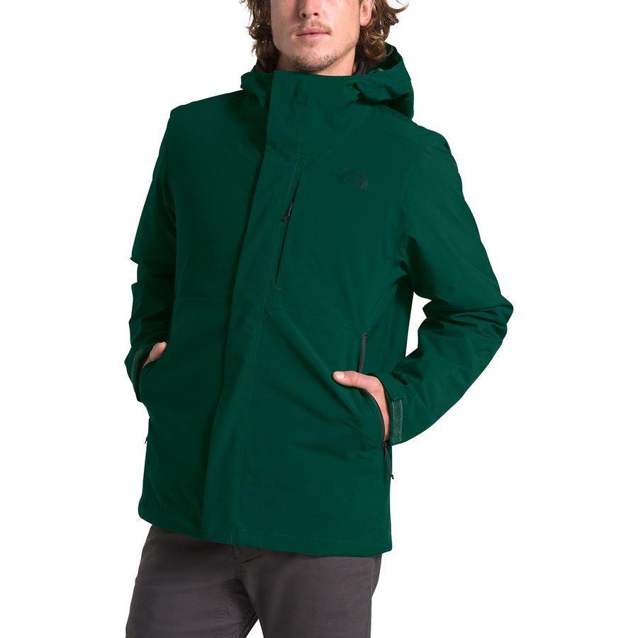 (取寄)ノースフェイス メンズ カルト トリクラメイト フーデッド ジャケット The North Face Men's Carto Triclimate Hooded Jacket Night Green/Tnf Black