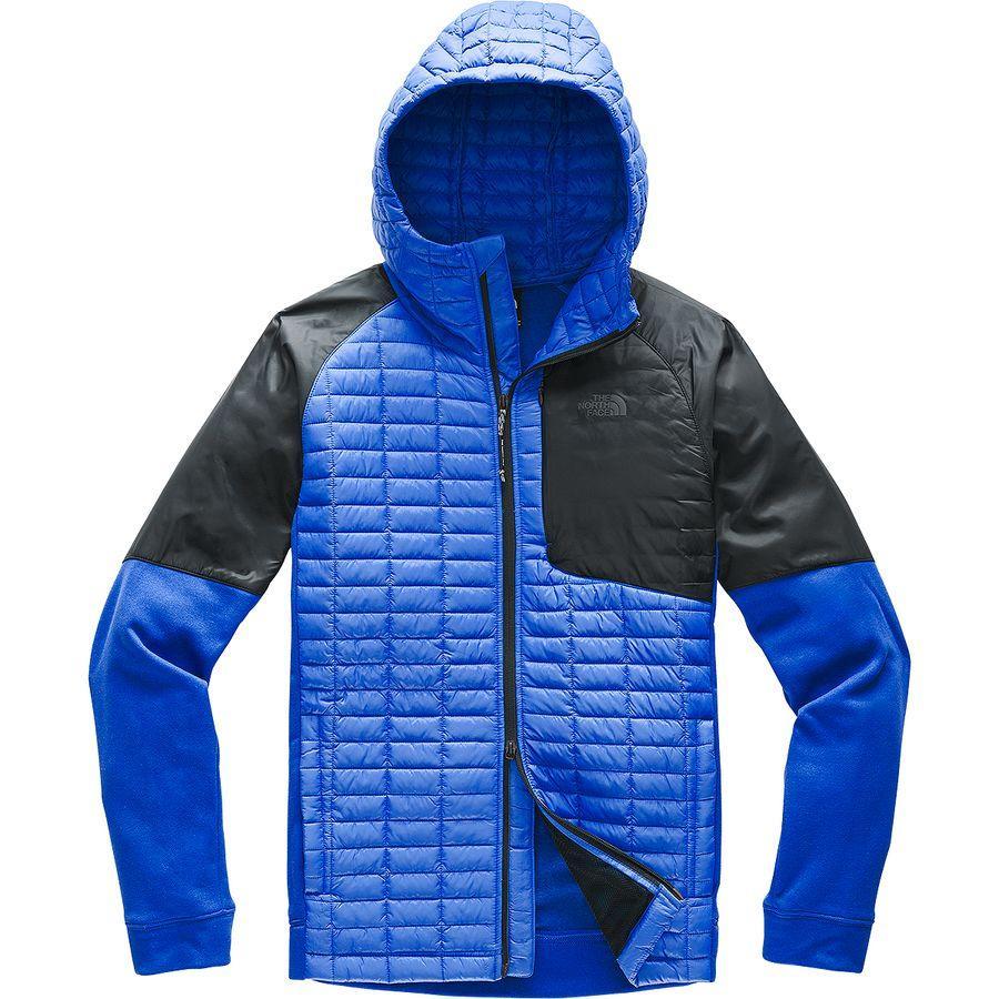 【ハイキング 登山 マウンテン アウトドア】【ウェア アウター】【大きいサイズ ビッグサイズ】 (取寄)ノースフェイス メンズ サーモボール フラッシュ フーデッド ジャケット The North Face Men's Thermoball Flash Hooded Jacket Tnf Blue