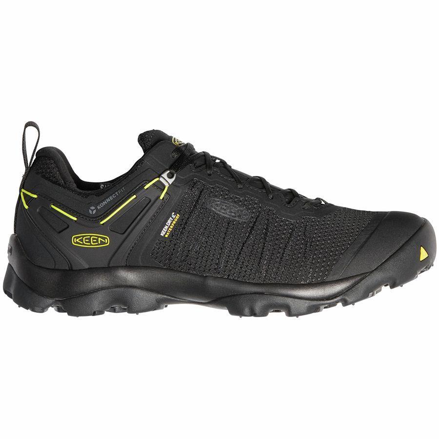 【スニーカー シューズ 靴】【ファッション ブランド ストリート】【メンズ 大きいサイズ】 (取寄)キーン メンズ ベンチャー  ハイキングシューズ KEEN Men's Venture Hiking Shoe Black/Keen Yellow