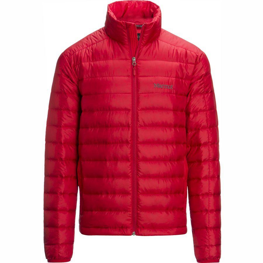 【クーポンで最大2000円OFF】(取寄)マーモット メンズ アゾス ダウン ジャケット Marmot Men's Azos Down Jacket Team Red