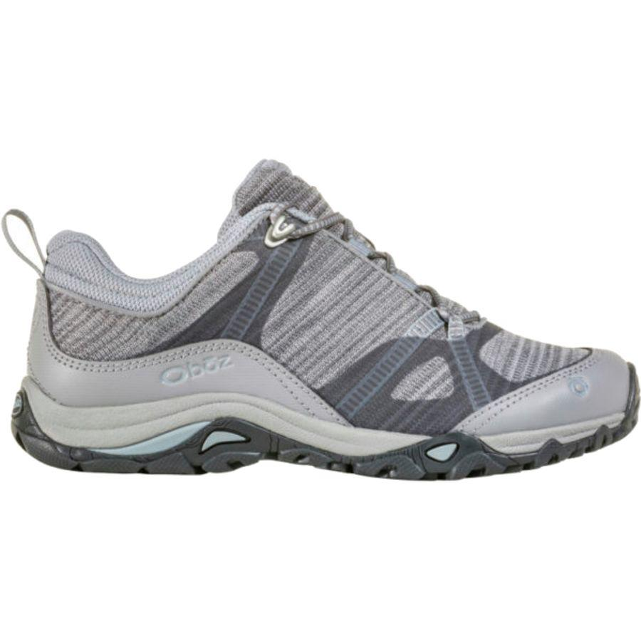 (取寄)オボズ レディース リンクス ロウ ハイキングシューズ Oboz Women Lynx Low Hiking Shoe Frost Gray/Tradewinds Blue
