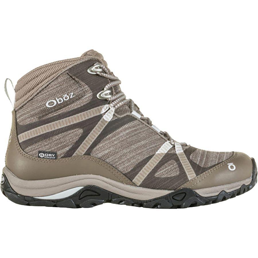 (取寄)オボズ レディース リンクス ミッド B-Dry ハイキング ブーツ Oboz Women Lynx Mid B-Dry Hiking Boot Morel Brown