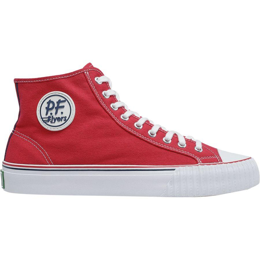 (取寄)ピーエフ フライヤーズ メンズ センター ハイ シューズ PF Flyers Men's Center Hi Shoe Red
