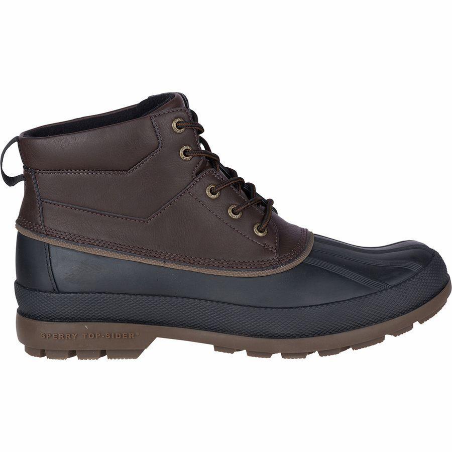 (取寄)スペリートップサイダー メンズ コールド ベイ チャッカ ブーツ Sperry Top-Sider Men's Cold Bay Chukka Boot Amaretto/Black