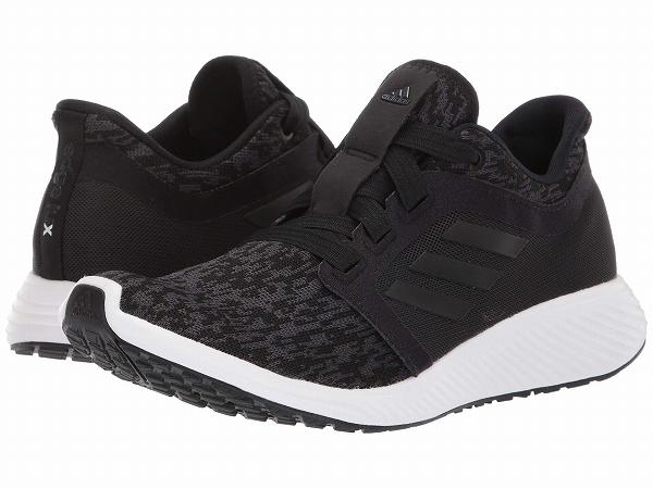 (取寄)アディダス レディース エッジ ラックス 3W ランニングシューズ adidas Women Edge Lux 3 W Black/Black/Carbon