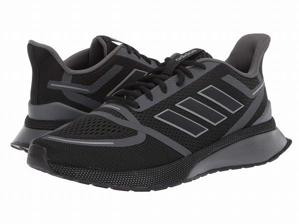 【クーポンで最大2000円OFF】(取寄)アディダス メンズ ノヴァ ラン ランニングシューズ adidas Men's Nova Run Core Black/Core Black/Grey Six