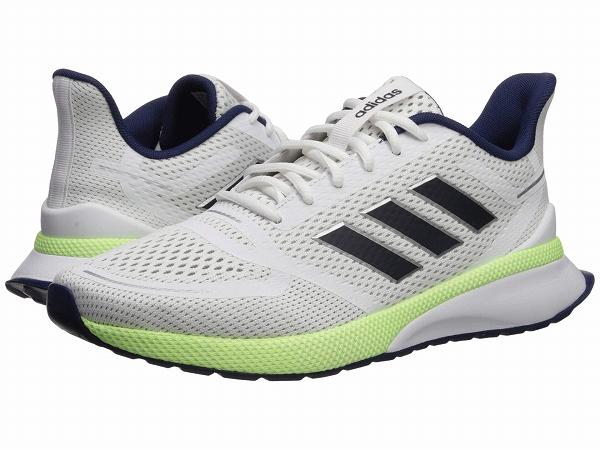 【クーポンで最大2000円OFF】(取寄)アディダス メンズ ノヴァ ラン ランニングシューズ adidas Men's Nova Run Footwear White/Legend Ink/Dark Blue
