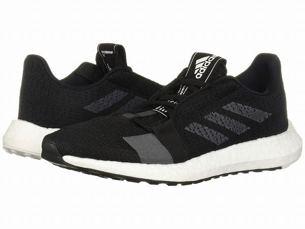 【クーポンで最大2000円OFF】(取寄)アディダス レディース センスブースト ゴー ランニングシューズ adidas Women SenseBOOST GO Core Black/Grey Five/Footwear White