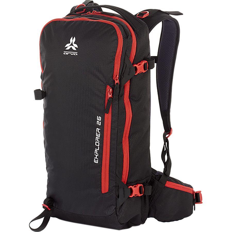 (取寄)アルバ ユニセックス エクスプローラ 26L バックパック ARVA Men's Explorer 26L Backpack Black
