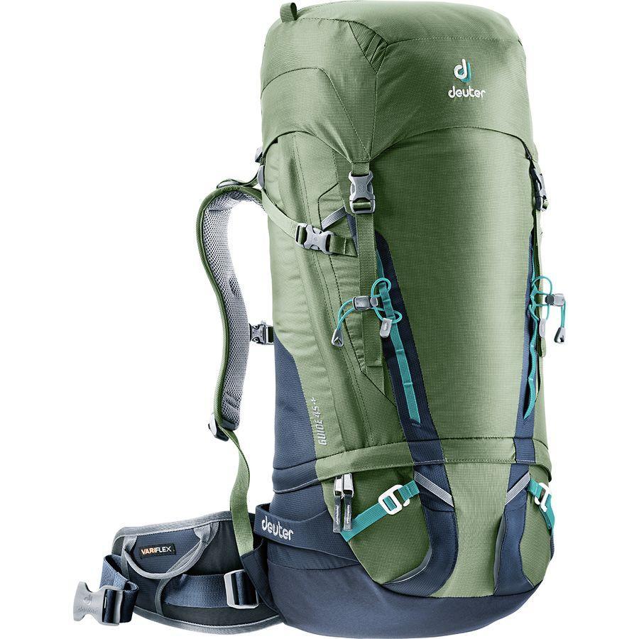 【クーポンで最大2000円OFF】(取寄)ドイター ユニセックス ガイド 45+8L バックパック Deuter Men's Guide 45+8L Backpack Khaki/Navy