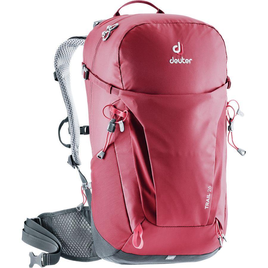 【クーポンで最大2000円OFF】(取寄)ドイター ユニセックス トレイル 26L バックパック Deuter Men's Trail 26L Backpack Cranberry/Graphite