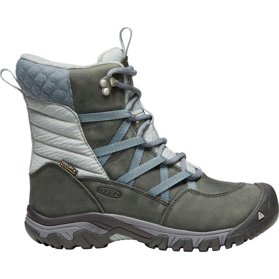 (取寄)キーン レディース ホードー 3 Lace-Up ブーツ KEEN Women Hoodoo III Lace-Up Boot Turbulence/Wrought Iron