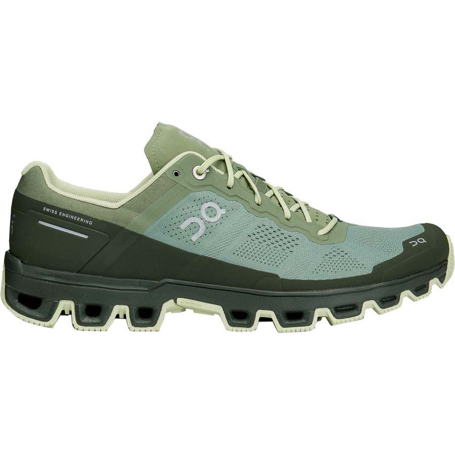 (取寄)オンランニング メンズ クラウドベンチャー トレイル ランニングシューズ ON Running Men's Cloudventure Trail Running Shoe Reseda/Jungle