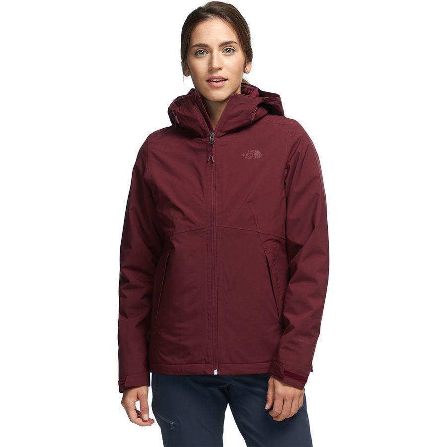 【ハイキング 登山 マウンテン アウトドア】【ウェア アウター】【山ガール ファッション ブランド】【大きいサイズ ビッグサイズ】 (取寄)ノースフェイス レディース カルト トリクラメイト フーデッド 3-In-1 ジャケット The North Face Women Carto Triclimate Hooded 3-In-1 Jacket Deep Garnet Red