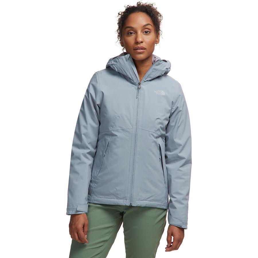 (取寄)ノースフェイス レディース カルト トリクラメイト フーデッド 3-In-1 ジャケット The North Face Women Carto Triclimate Hooded 3-In-1 Jacket Mid Grey/Ashen Purple