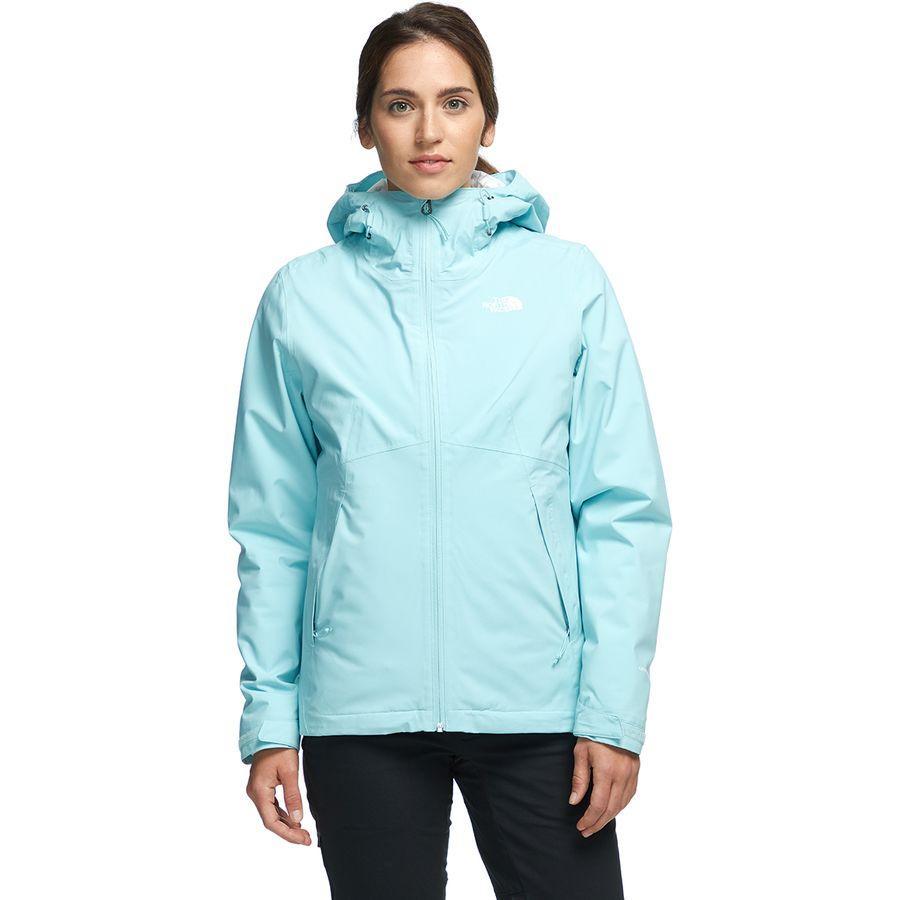(取寄)ノースフェイス レディース カルト トリクラメイト フーデッド 3-In-1 ジャケット The North Face Women Carto Triclimate Hooded 3-In-1 Jacket Windmill Blue