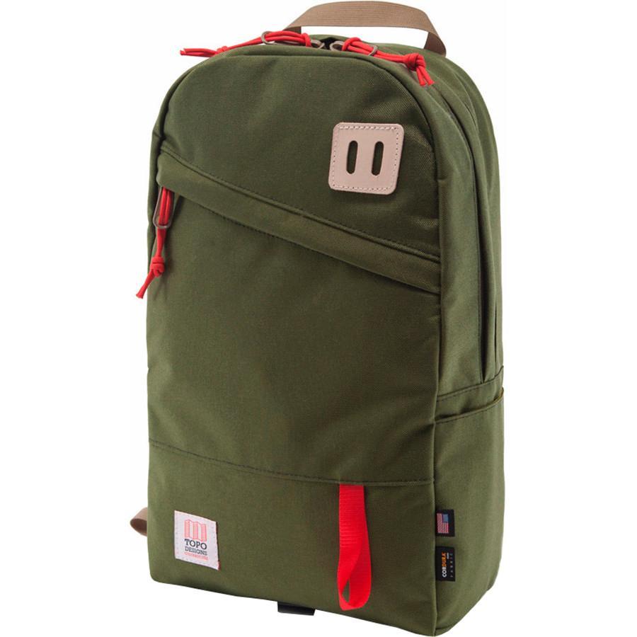 【クーポンで最大2000円OFF】(取寄)トポデザイン ユニセックス デイパック 20L バックパック Topo Designs Men's Daypack 20L Backpack Olive
