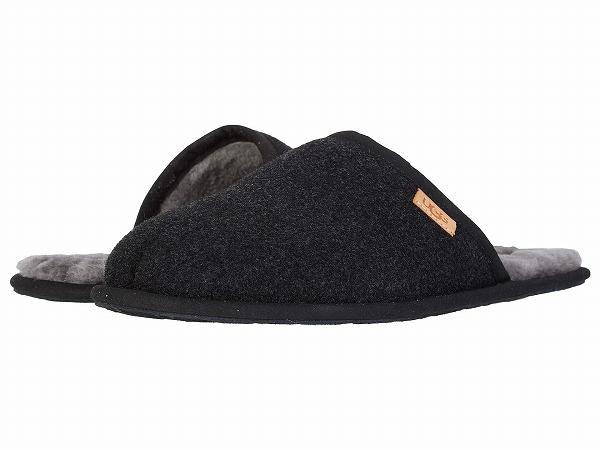 【クーポンで最大2000円OFF】(取寄)アグ メンズ スカフ ウール  UGG Men's Scuff Wool | Black TNL