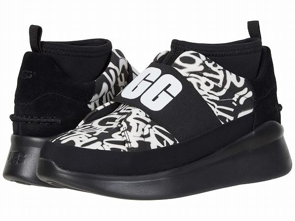 (取寄)アグ レディース ニュートラ スニーカー UGG Women Neutra Sneaker | Black/White