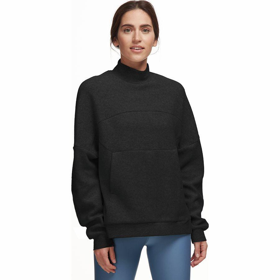 (取寄)アローヨガ レディース セグメント トレーナー プルオーバー ALO YOGA Women Segment Sweatshirt Pullover Black