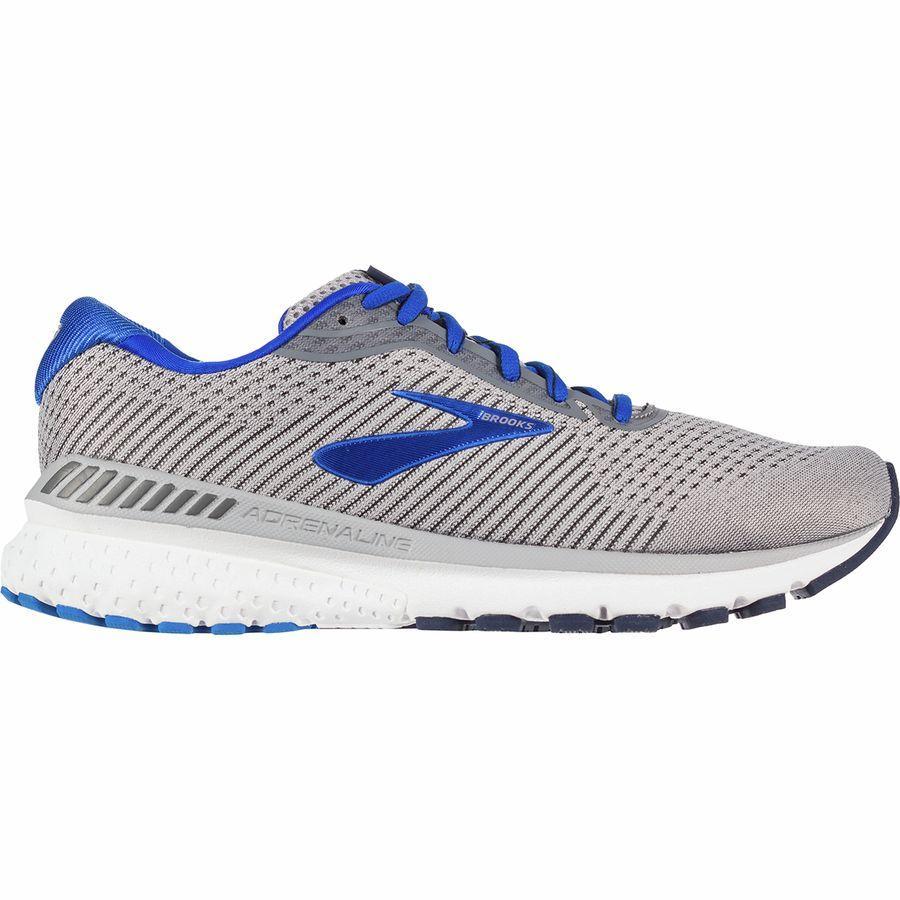 (取寄)ブルックス メンズ アドレナリン GTS 20 ランニングシューズ Brooks Men's Adrenaline GTS 20 Running Shoe Grey/Blue/Navy