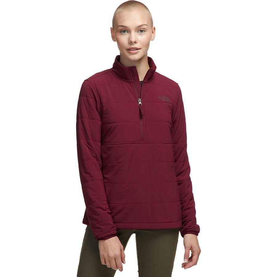 (取寄)ノースフェイス レディース マウンテン トレーナー 3.0 プルオーバー The North Face Women Mountain Sweatshirt 3.0 Pullover Deep Garnet Red/Picante Red