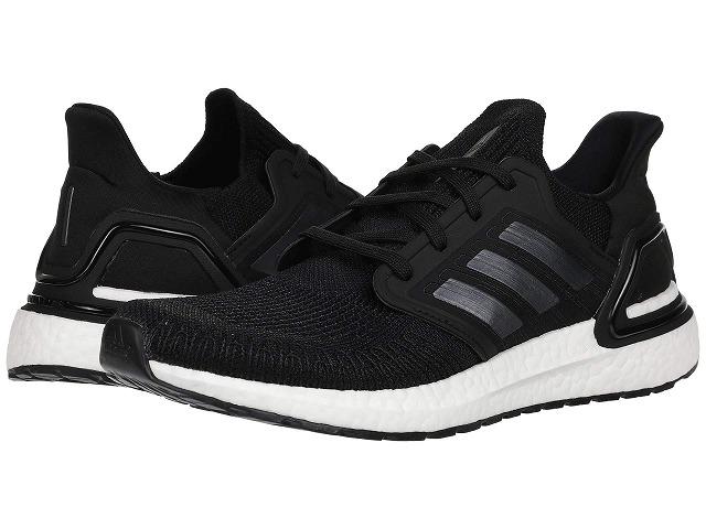 (取寄)アディダス メンズ ウルトラブースト 20 ランニングシューズ adidas Men's Ultraboost 20  Core Black/Night Metallic/Footwear White