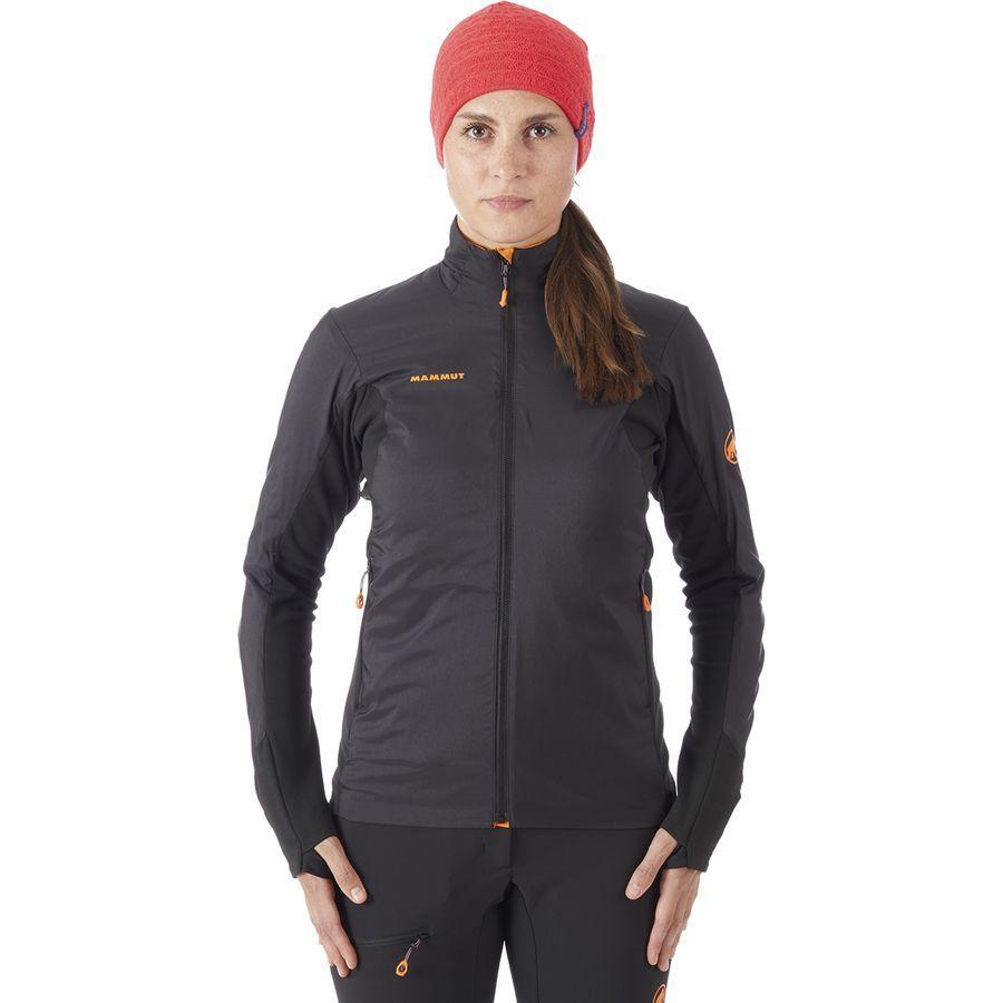 (取寄)マムート レディース アイガーヨッホ イン ハイブリッド ジャケット Mammut Women Eigerjoch IN Hybrid Jacket Black