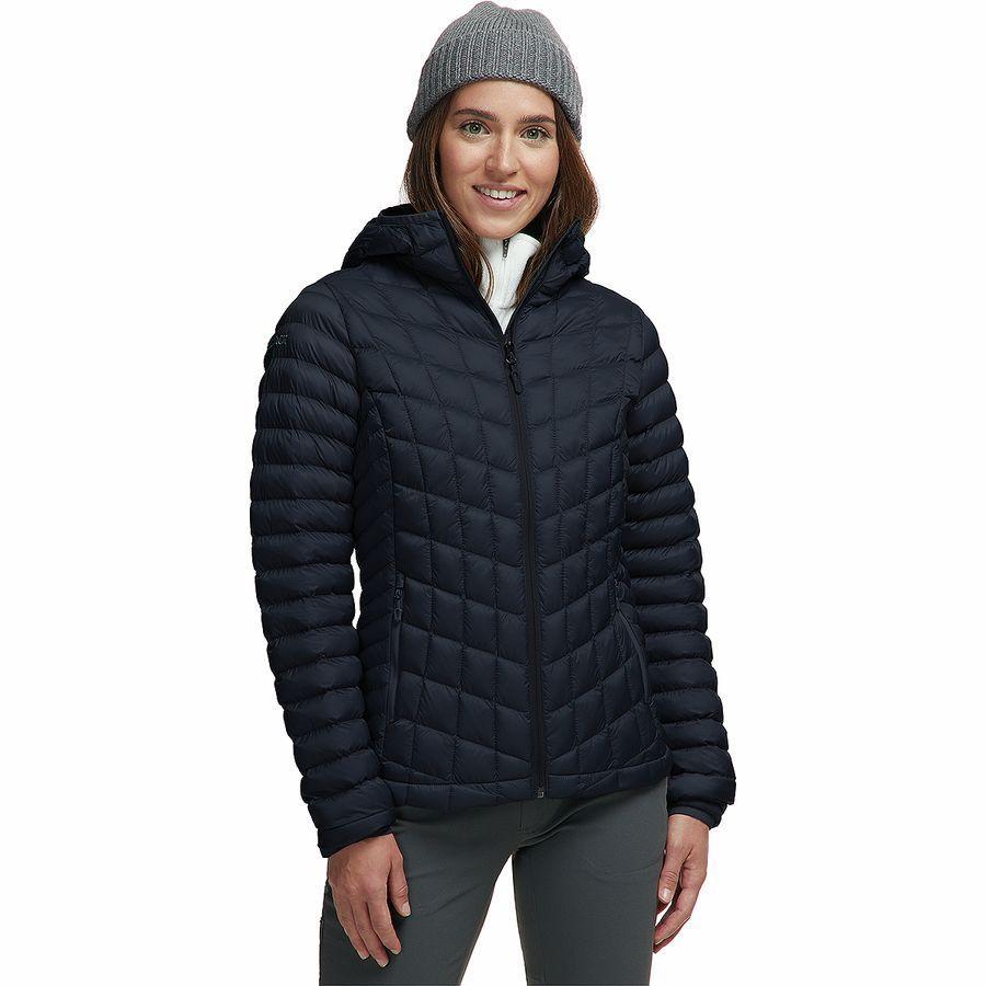 【エントリーでポイント5倍】(取寄)マーモット レディース フェザーレス フーデッド インサレーテッド ジャケット Marmot Women Featherless Hooded Insulated Jacket Black