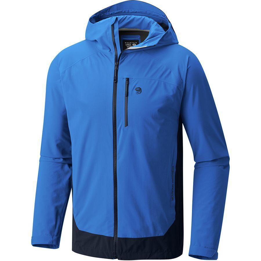 【クーポンで最大2000円OFF】(取寄)マウンテンハードウェア メンズ ストレッチ オゾニック ジャケット Mountain Hardwear Men's Stretch Ozonic Jacket Altitude Blue