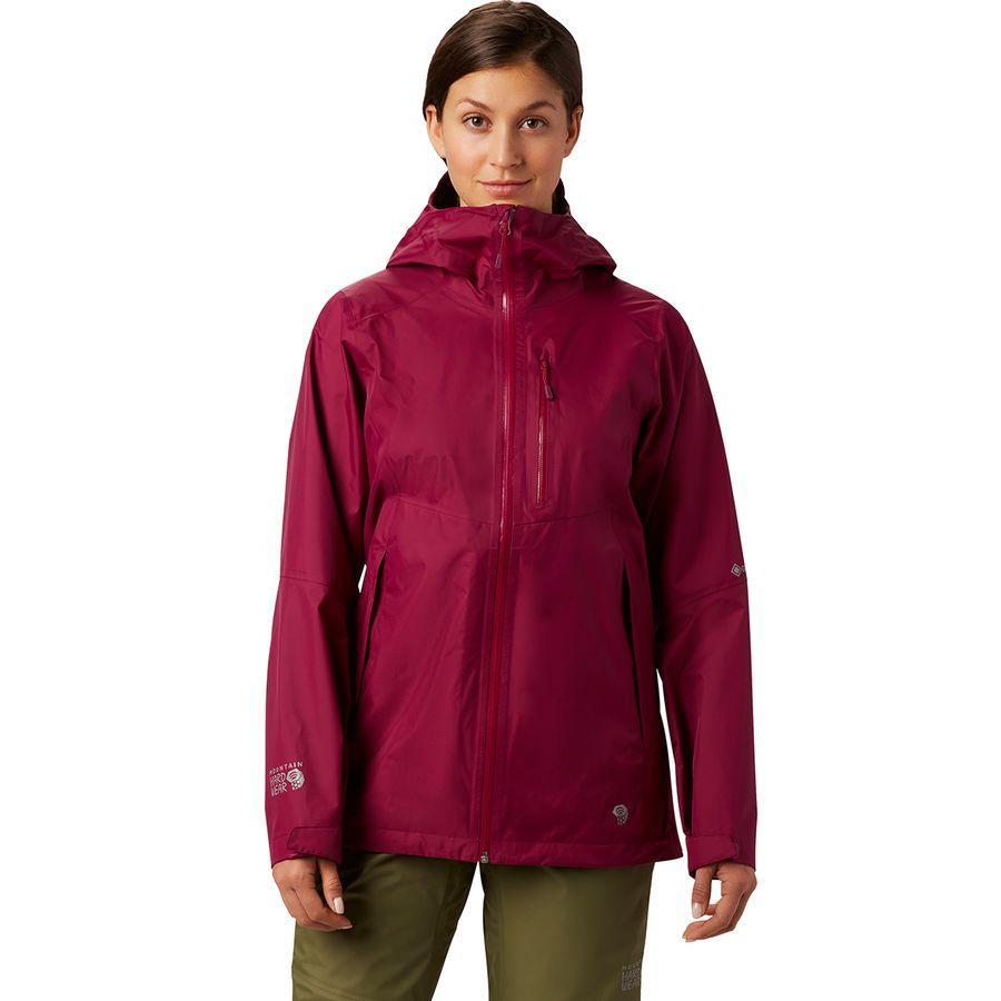 (取寄)マウンテンハードウェア レディース エクスポーザー 2 Gtx パックライト ジャケット Mountain Hardwear Women Exposure 2 GTX Paclite Jacket Divine