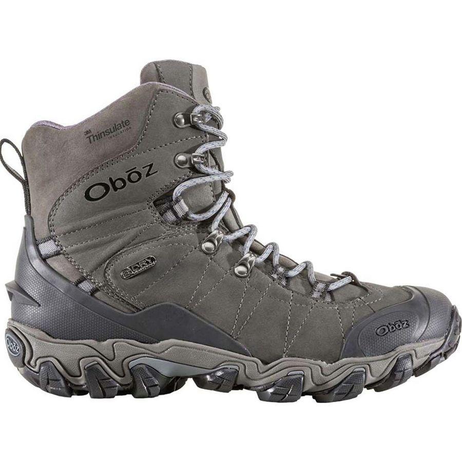 (取寄)オボズ メンズ ブリッガー 8in インサレーテッド B-Dry ブーツ Oboz Men's Bridger 8in Insulated B-Dry Boot Dark Shadow
