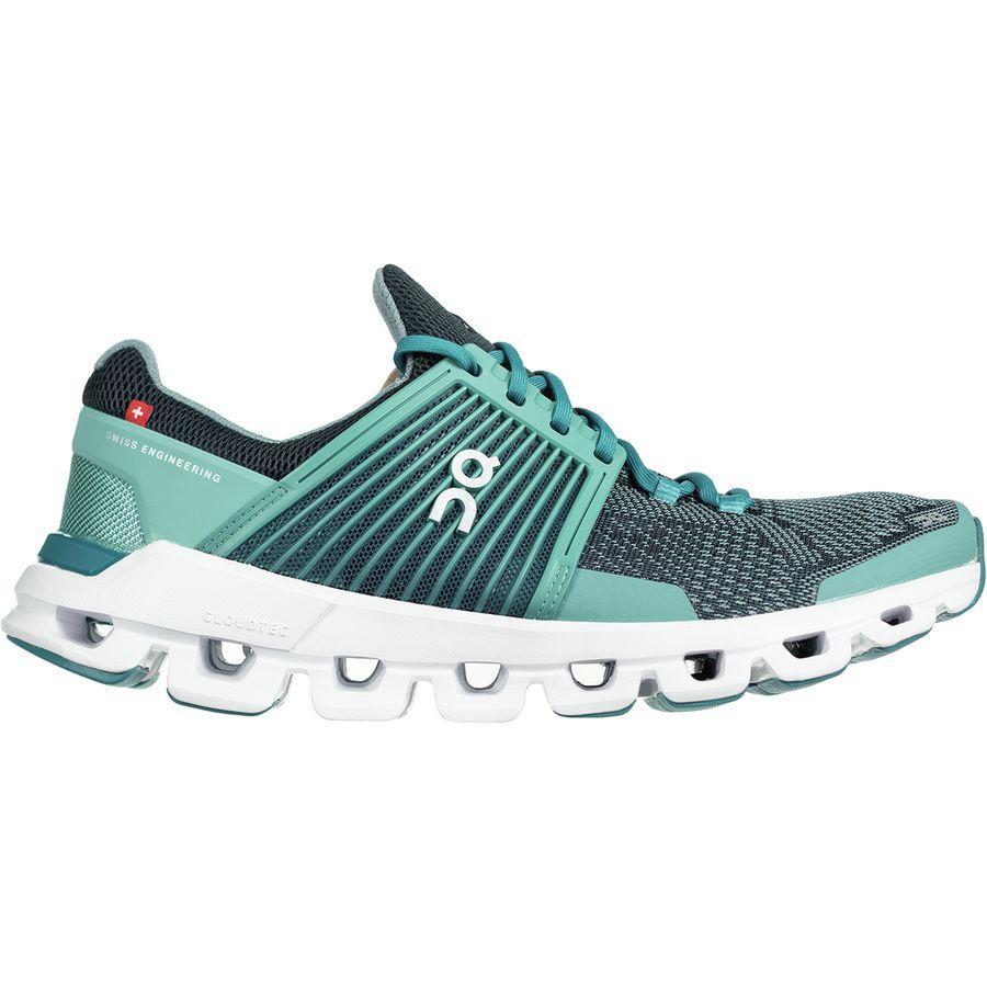 (取寄)オンランニング レディース クラウドスイフト ランニングシューズ ON Running Women Cloudswift Running Shoe Teal/Storm
