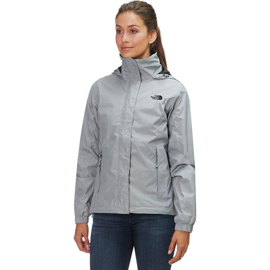 (取寄)ノースフェイス レディース リゾルブ 2 フーデッド ジャケット The North Face Women Resolve 2 Hooded Jacket Mid Grey/Tnf Black