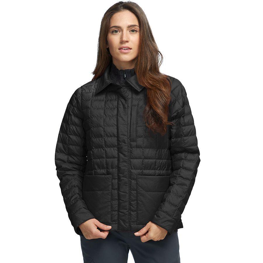 【エントリーでポイント5倍】(取寄)ノースフェイス レディース サーモボール エコ スナップ インサレーテッド ジャケット The North Face Women Thermoball Eco Snap Insulated Jacket TNF Black