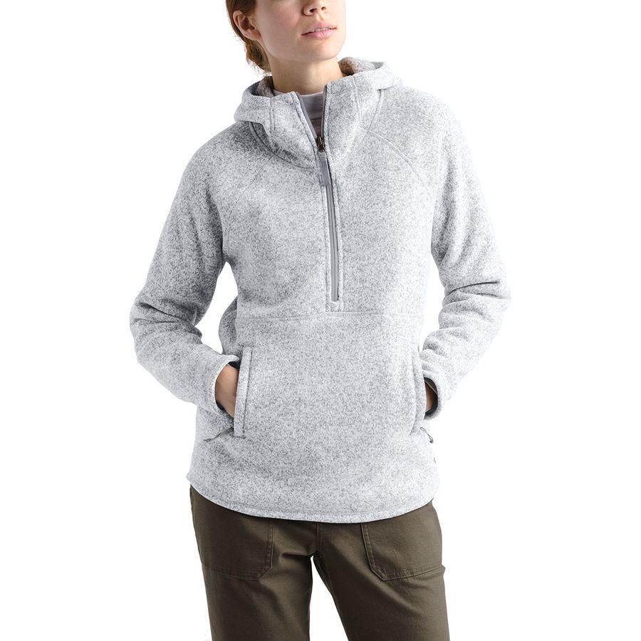 (取寄)ノースフェイス レディース クレセント プルオーバー パーカー The North Face Women Crescent Hoodie Pullover Tnf Light Grey Heather