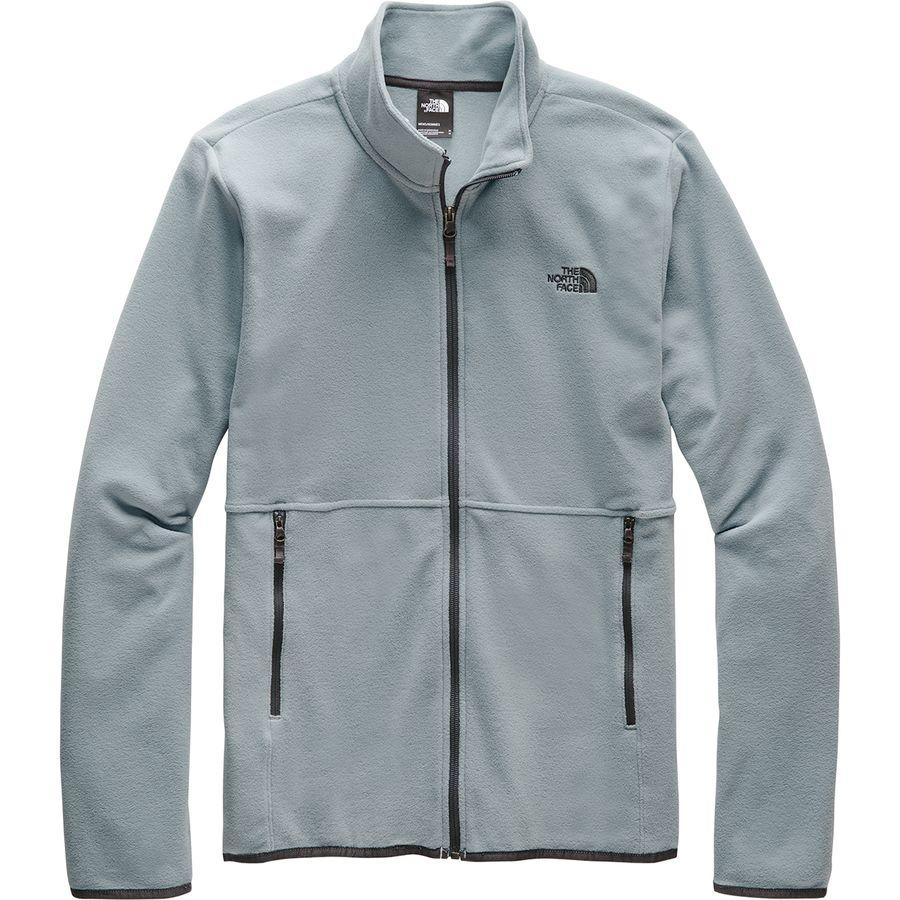 【クーポンで最大2000円OFF】(取寄)ノースフェイス メンズ TKA グレイシャー フルジップ フリース ジャケット The North Face Men's TKA Glacier Full-Zip Fleece Jacket Mid Grey/Mid Grey