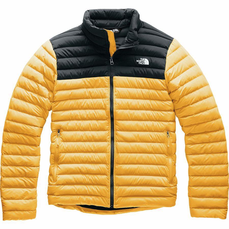 (取寄)ノースフェイス メンズ ストレッチ ダウン ジャケット The North Face Men's Stretch Down Jacket Tnf Yellow/Tnf Black