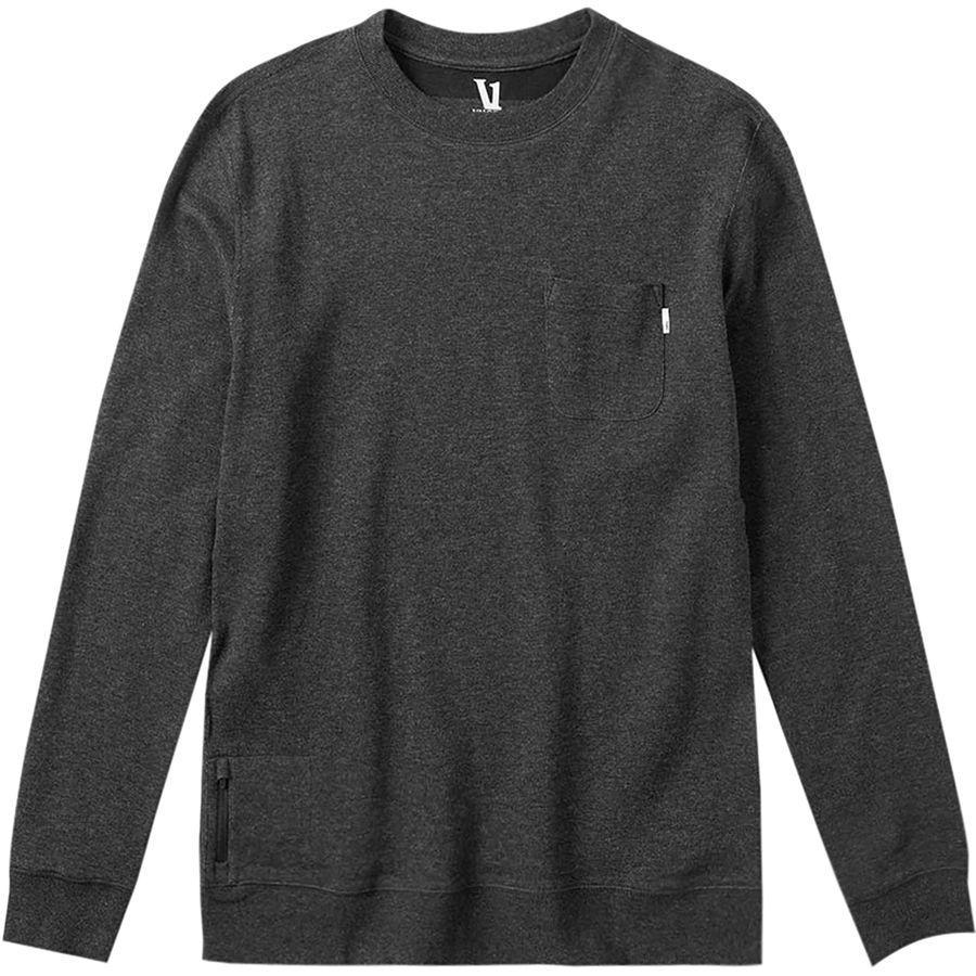 (取寄)ヴォリ メンズ ジェフリーズ トレーナー プルオーバー Vuori Men's Jeffreys Sweatshirt Pullover Black Heather