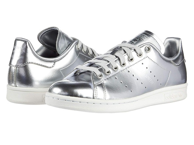 (取寄)アディダス オリジナルス レディース スタン スミス  adidas originals Women adidas Originals Stan Smith Silver/Silver/Crystal White