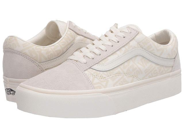 【クーポンで最大2000円OFF】(取寄)Vans(バンズ) スニーカー オールド スクール プラットフォーム レディース Vans Women Old Skool Platform (Vans 66) Marshmallow