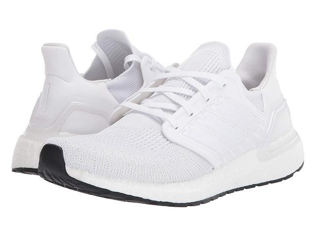 【クーポンで最大2000円OFF】(取寄)アディダス メンズ ウルトラブースト 20 ランニングシューズ adidas Men's Running Ultraboost 20 Footwear White/Grey Three/Core Black