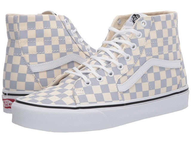 (取寄)Vans(バンズ) スニーカー スケート―ハイ Tapered ユニセックス メンズ レディース Vans Unisex Sk8 (Checkerboard) Zen Blue/True White