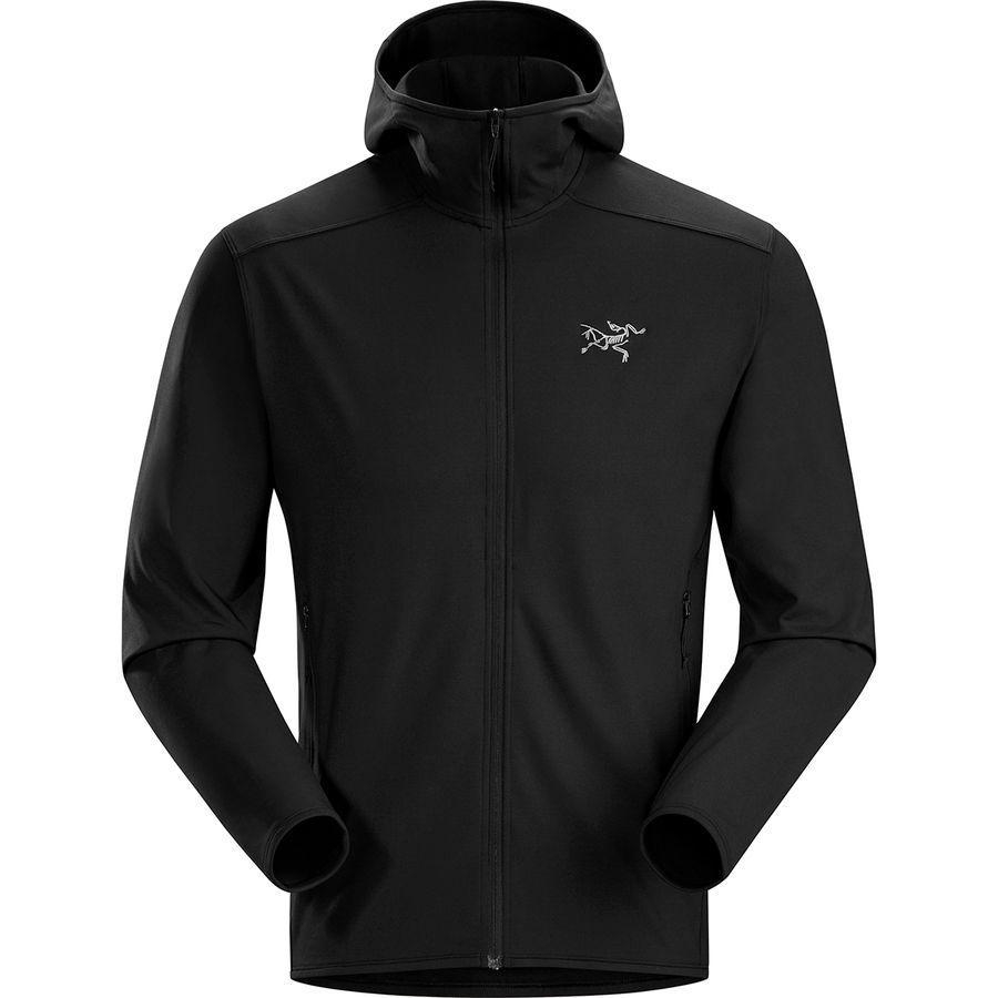 【ハイキング 登山 マウンテン アウトドア】【ウェア アウター】【大きいサイズ ビッグサイズ】 (取寄)アークテリクス メンズ カイヤナイト LT フーデッド ジャケット Arc'teryx Men's Kyanite LT Hooded Jacket Black