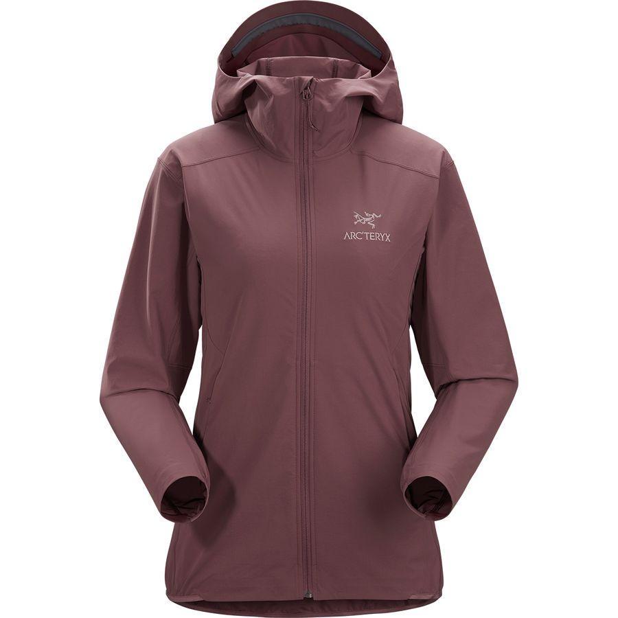 【ハイキング 登山 マウンテン アウトドア】【ウェア アウター】【山ガール ファッション ブランド】【大きいサイズ ビッグサイズ】 (取寄)アークテリクス レディース ガマー SL フーデッド ジャケット Arc'teryx Women Gamma SL Hooded Jacket Inertia